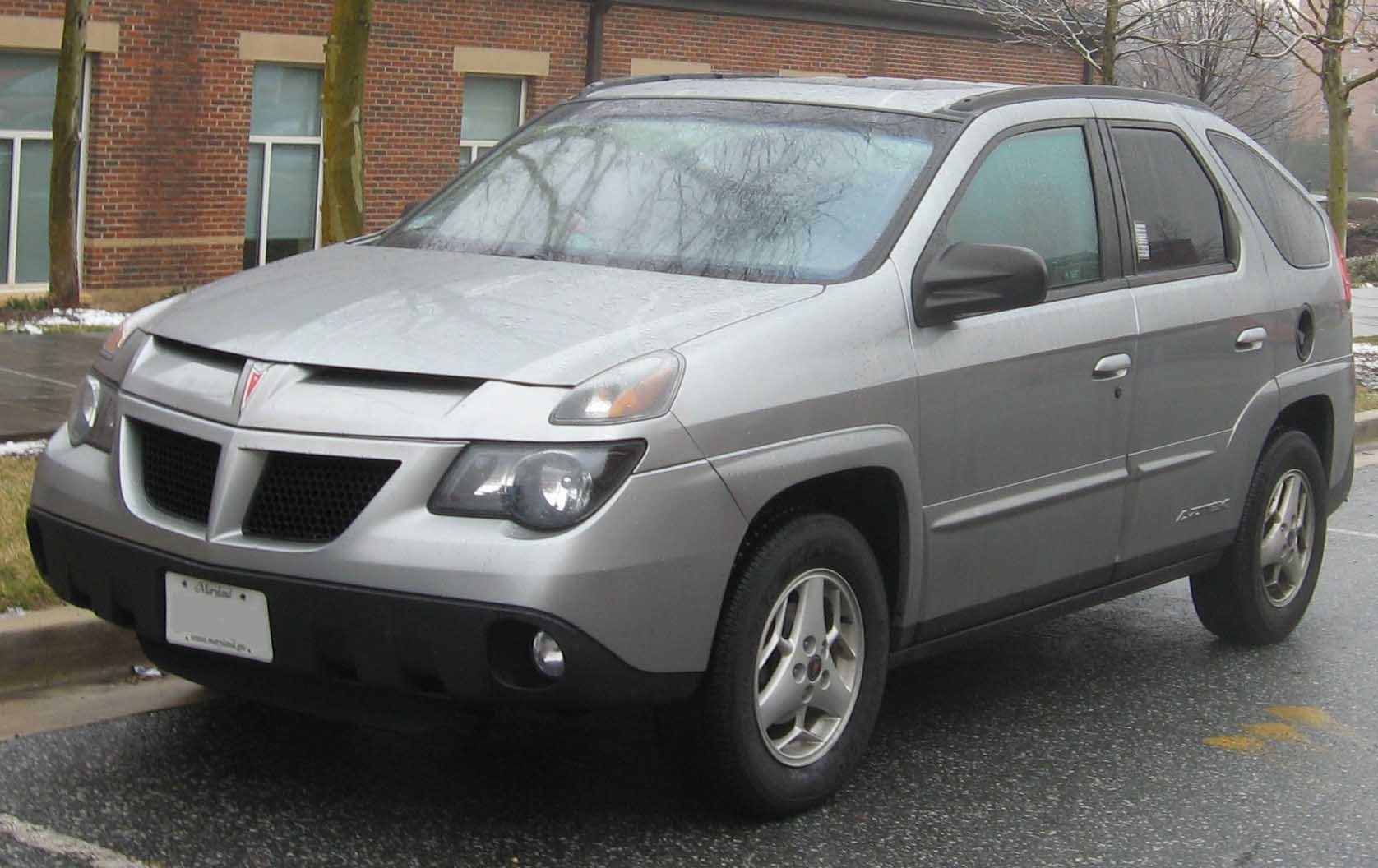 Pontiac Aztek (photo via Wikipedia)