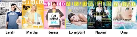 6 Women On Wired Magazine Covers