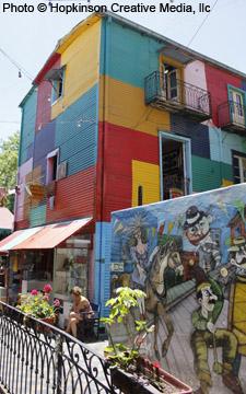 LaBoca Colorful House