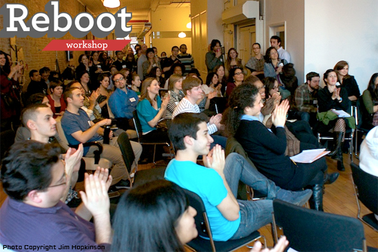 Reboot Workshop Crowd