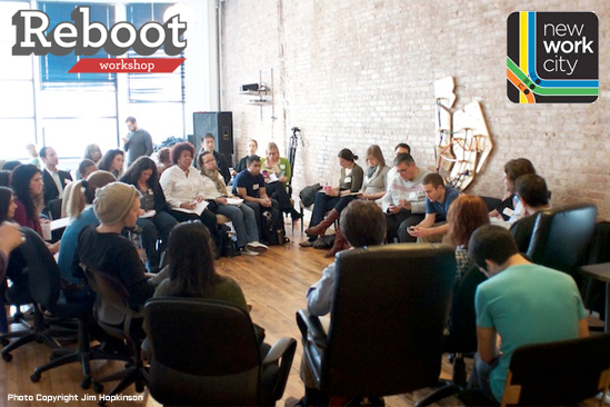 Reboot Workshop at NewWorkCity