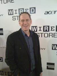 Jim Hopkinson at Wired Store Event