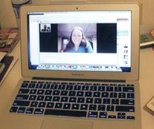 Working via Skype