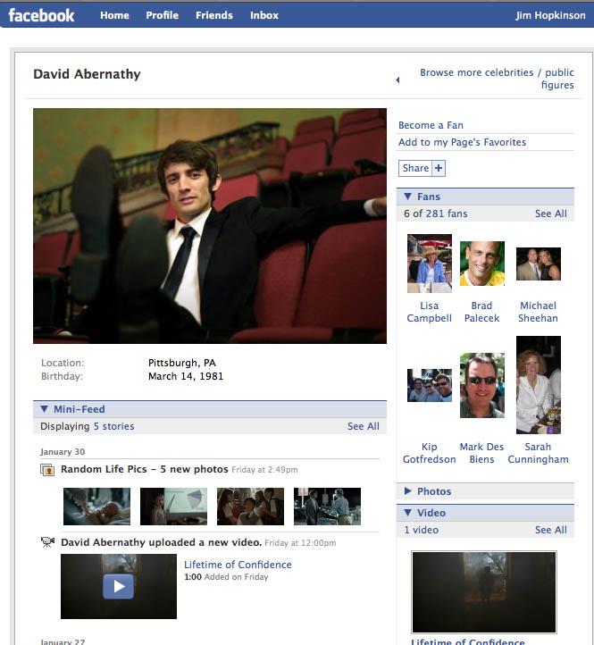 David Abernathy Facebook