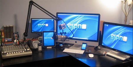 Podcast Answer Man Setup