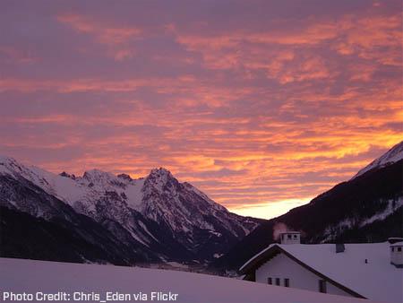 ski-sunrise