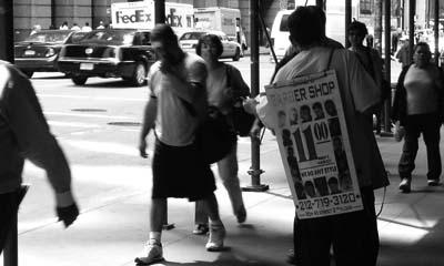 Street Spam Man