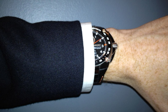 proper suit shirt watch sleeve length