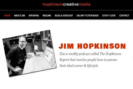 JIm Hopkinson Dot Com Homepage