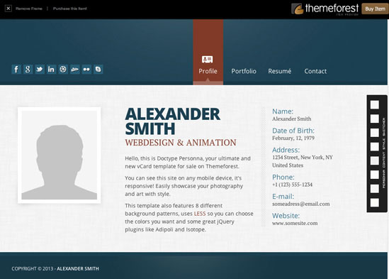 Alexander-Smith-Themeforest-Template