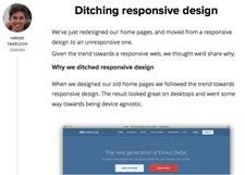 Ditching-Responsive-Design