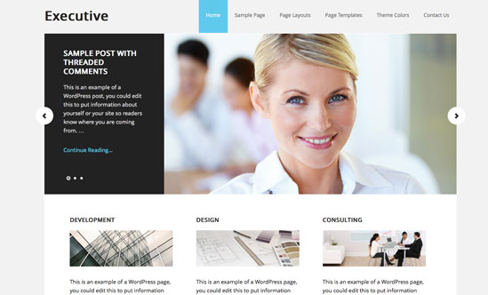 studio-press-executive-theme